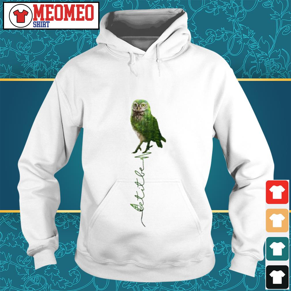Official Owl let it be Hoodie