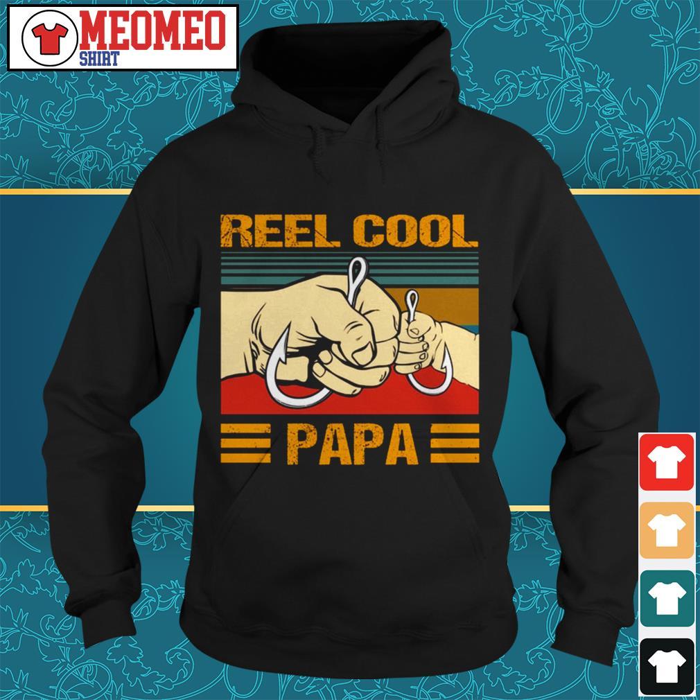 Official Reel cool Papa Hoodie