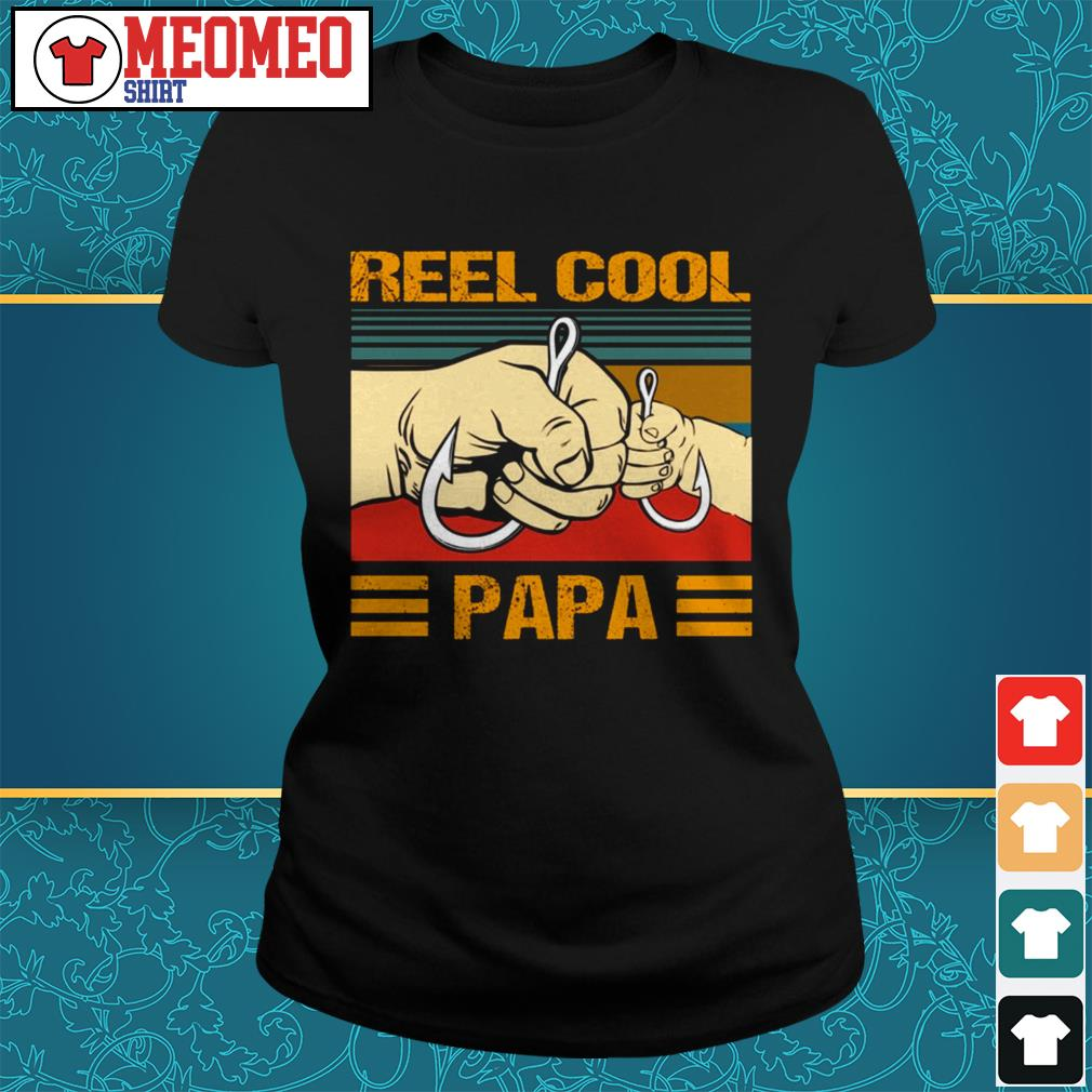 Official Reel cool Papa Ladies tee