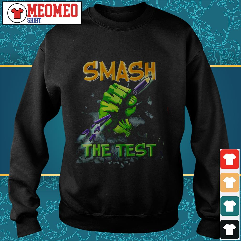 Official Smash the test Sweater