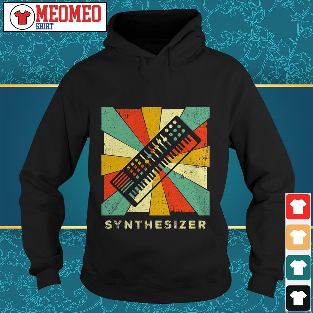 Official Synthesizer Vintage Hoodie