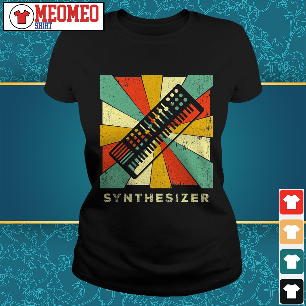 Official Synthesizer Vintage ladies tee