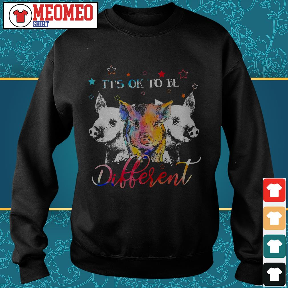 Official three Pig it's ok to be different Sweater