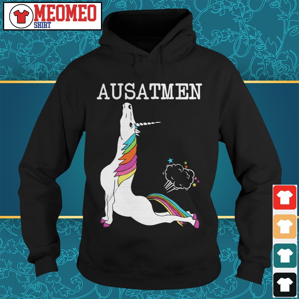 Official Unicorn Ausatmen Hoodie