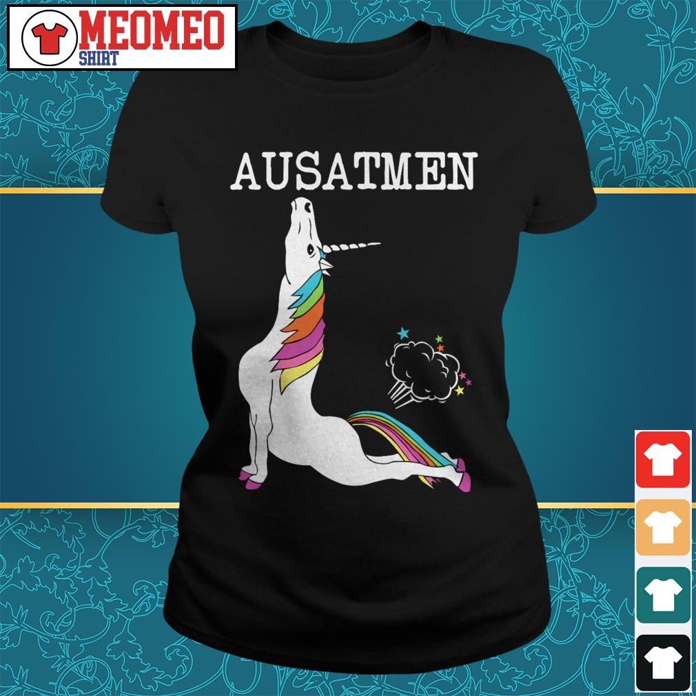 Official Unicorn Ausatmen Ladies tee