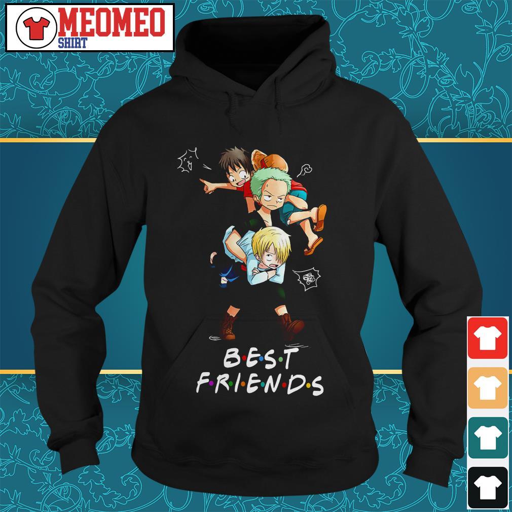 One piece anime best friends Hoodie
