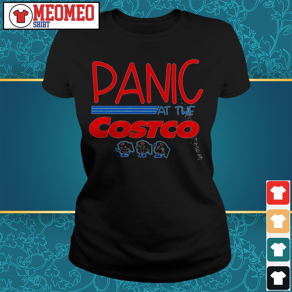 Panic At The Costco Ladies tee