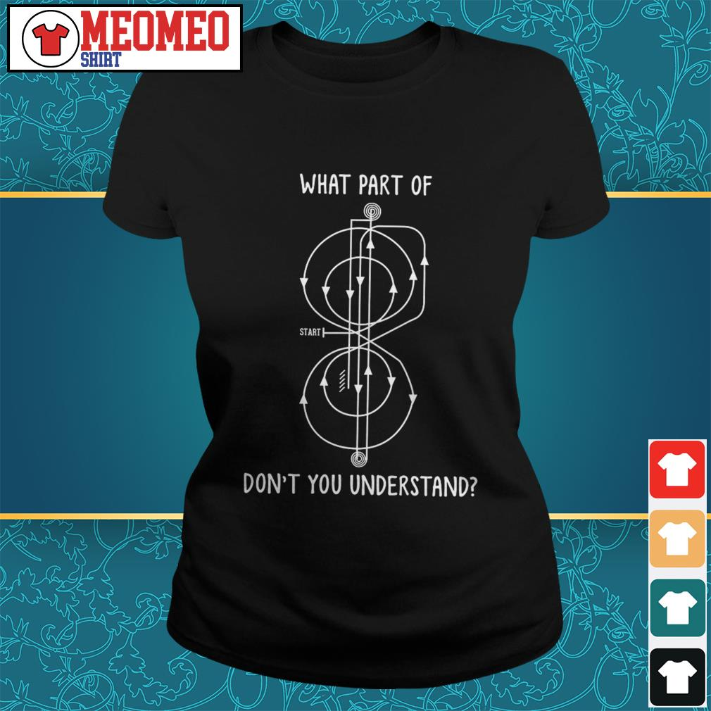 What part of start don't you understand Ladies tee