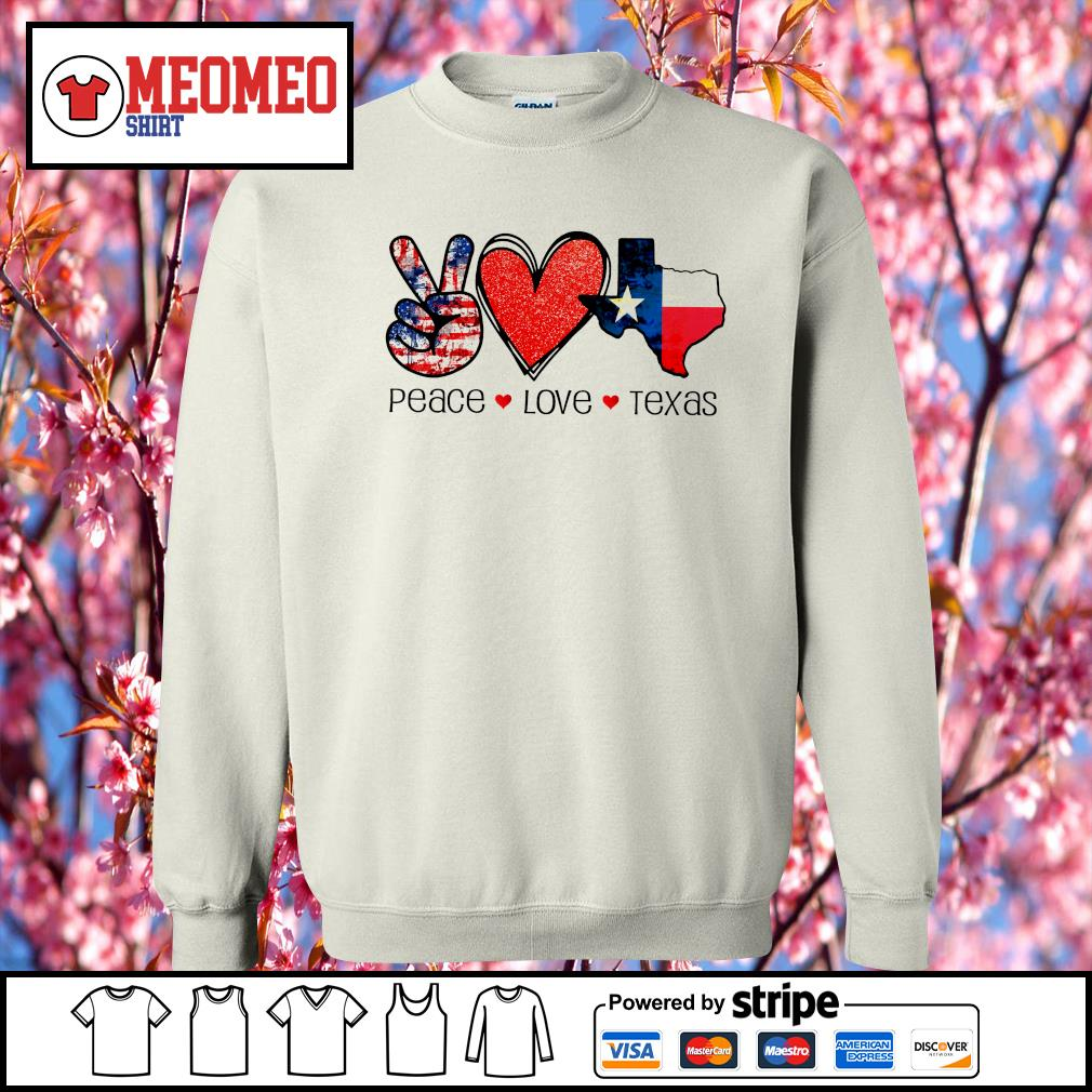 Peace Love Texas strong snovid 21 s Sweater