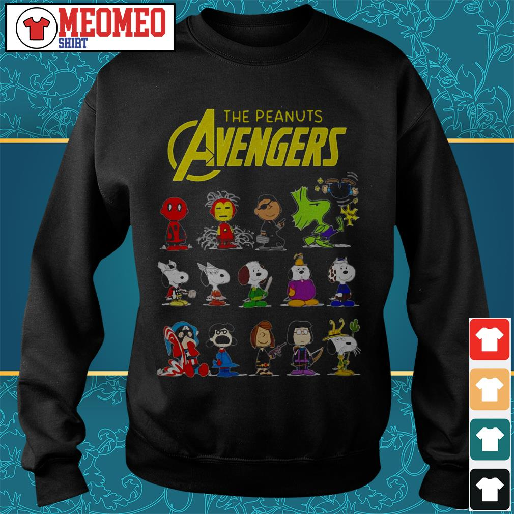 The peanut Avengers characters Sweater