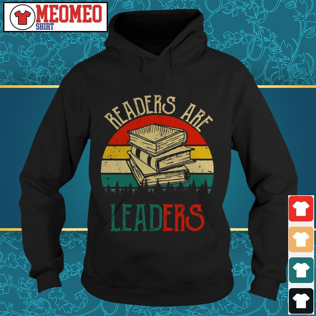 Readers are leaders Hoodie