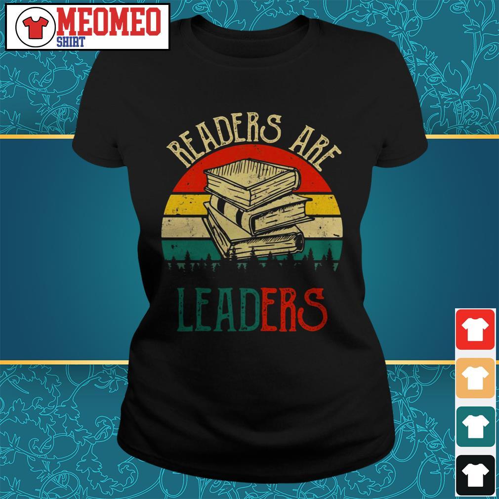 Readers are leaders Ladies tee