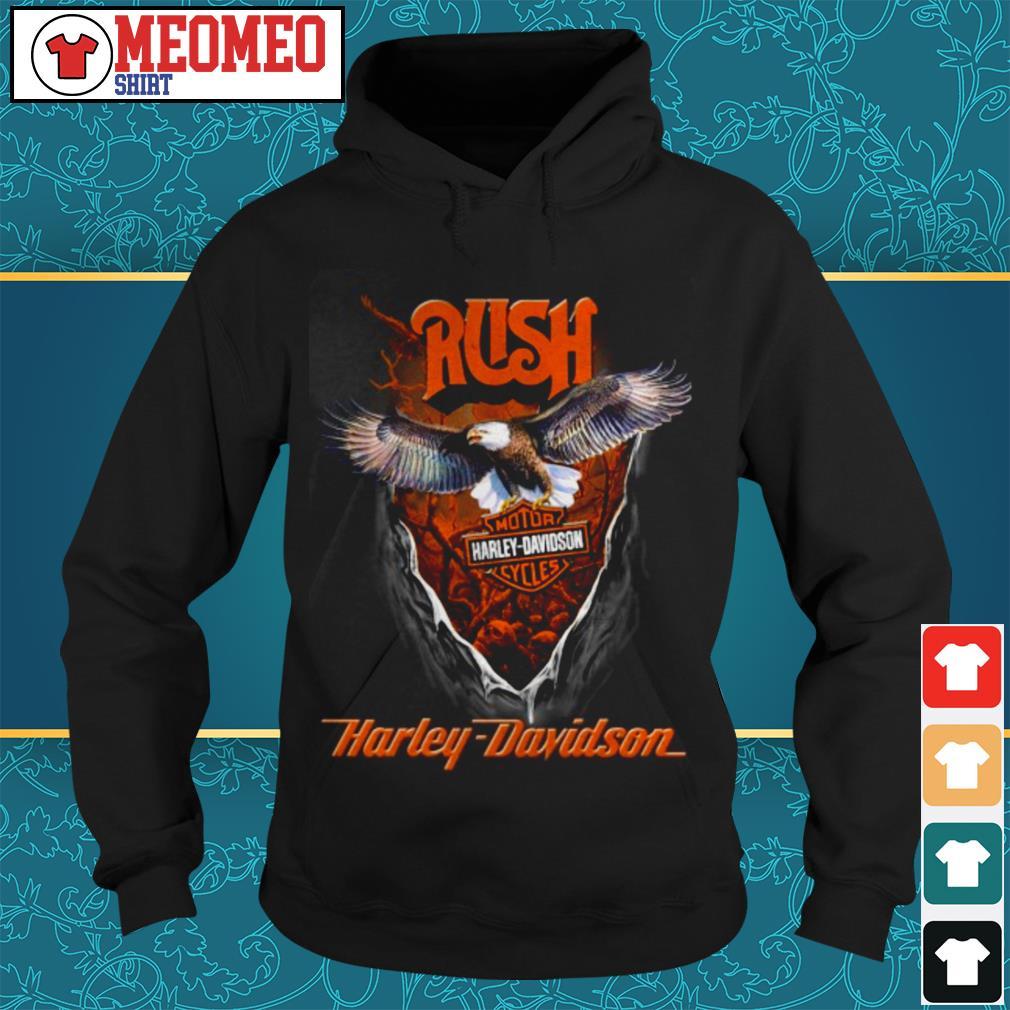 Rush Harley Davidson motorcycles Hoodie