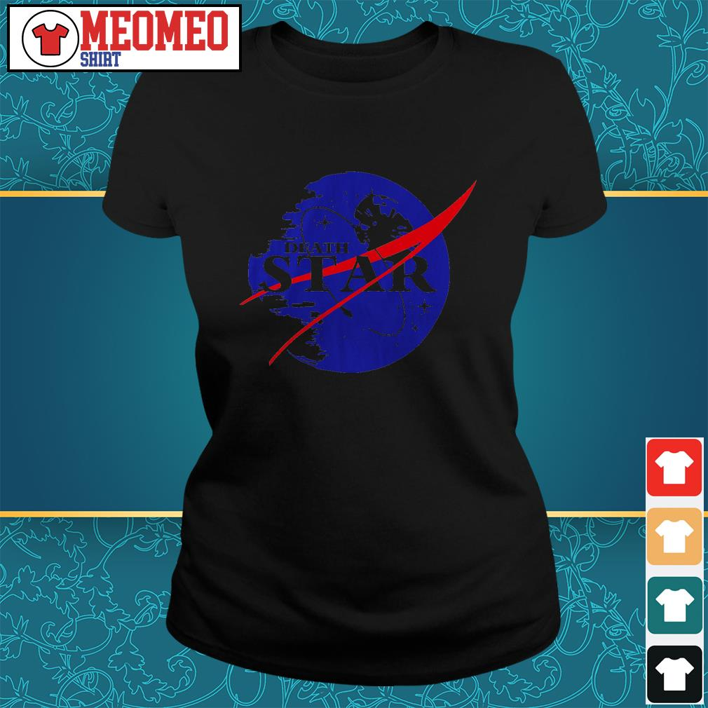 The Second NASA Death Star ladies tee