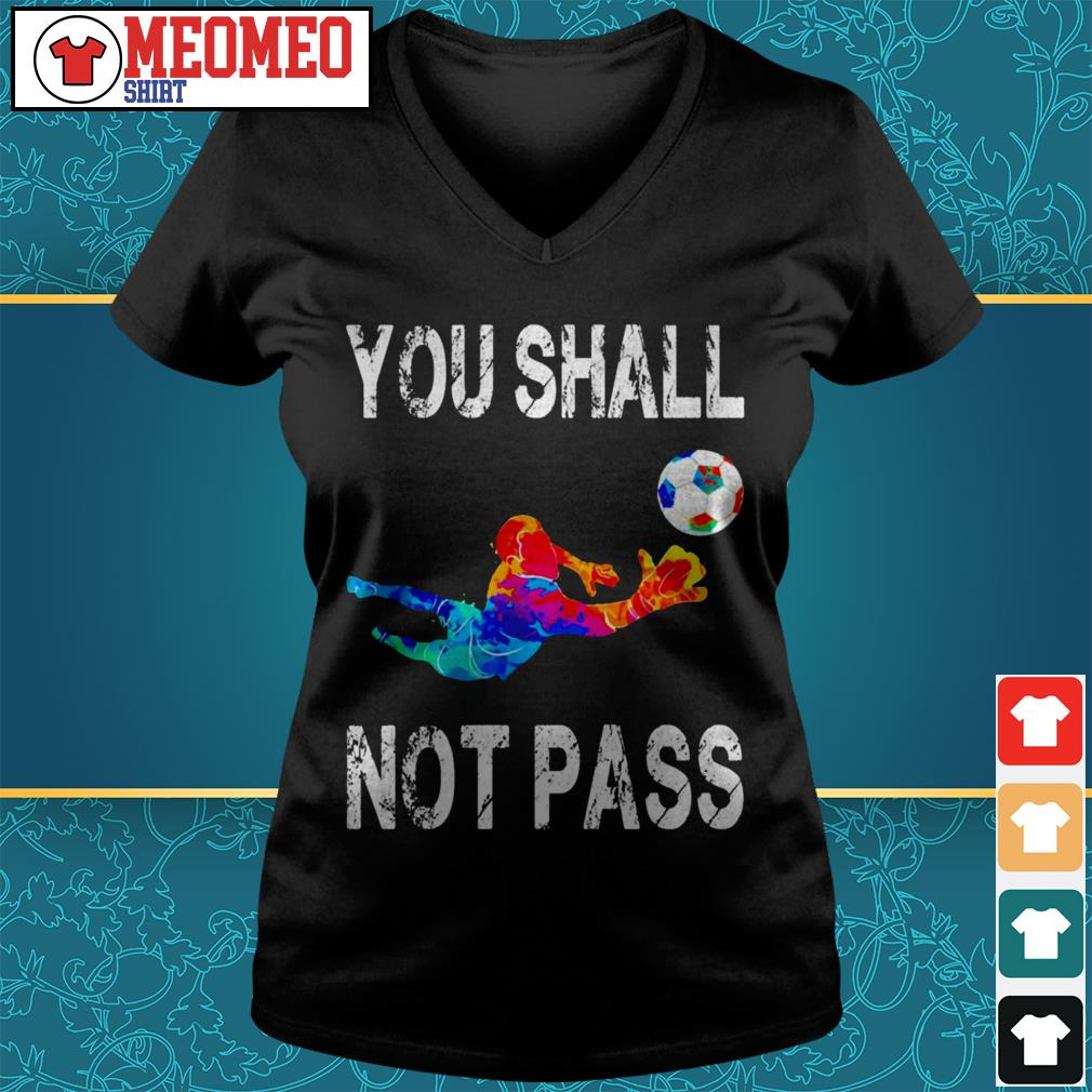 You shall not pass V-neck t-shirt