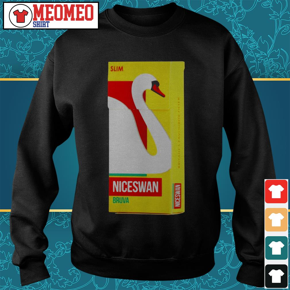 Slom niceswan bruva britain's favourite filter Sweater