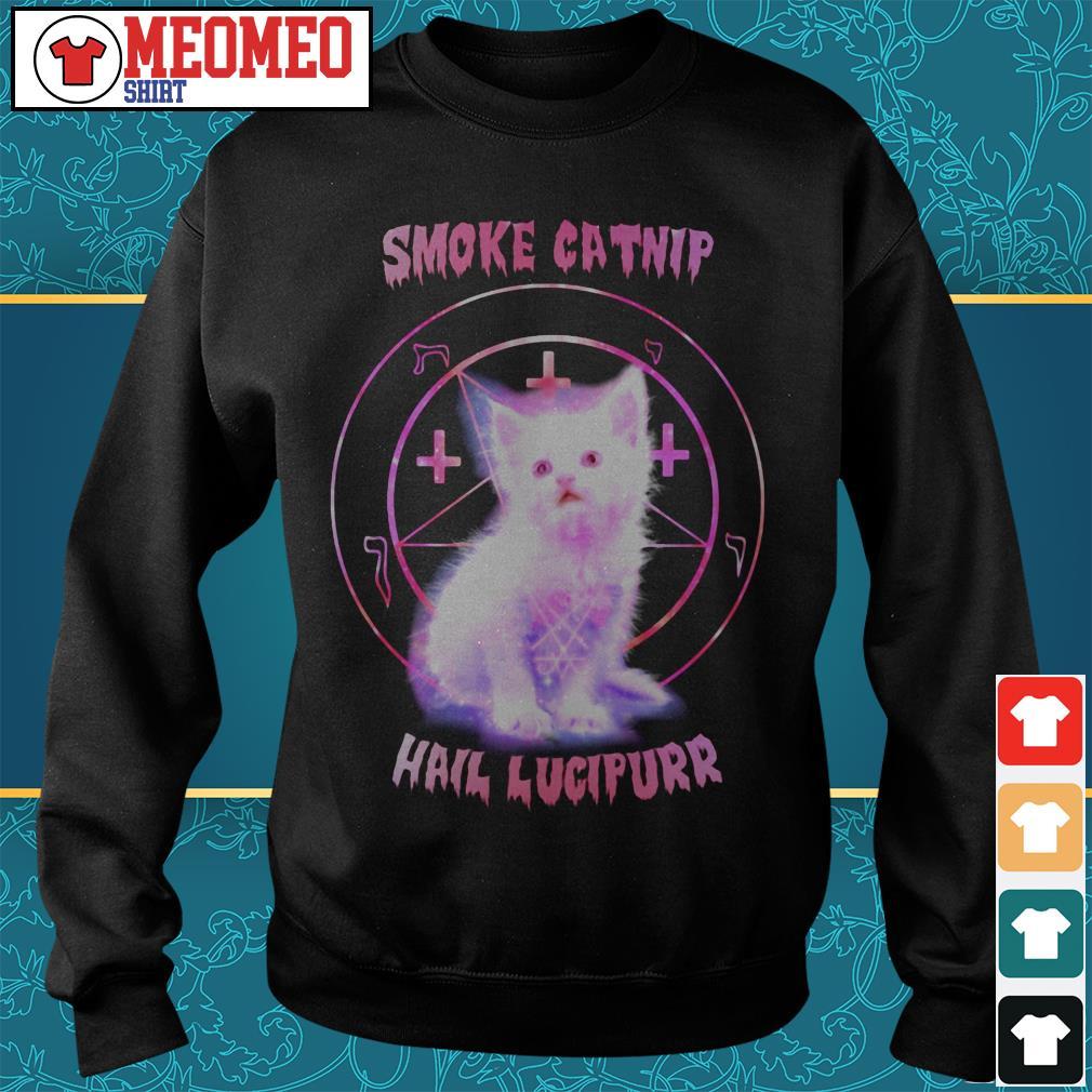 Smoke catnip hail lucipurr Sweater