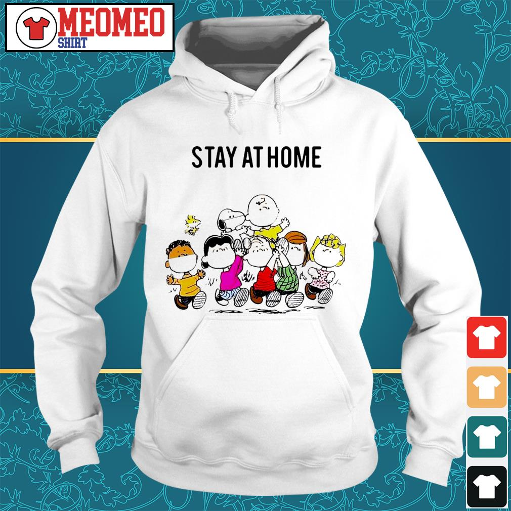 Snoopy and friends stay at home Hoodie