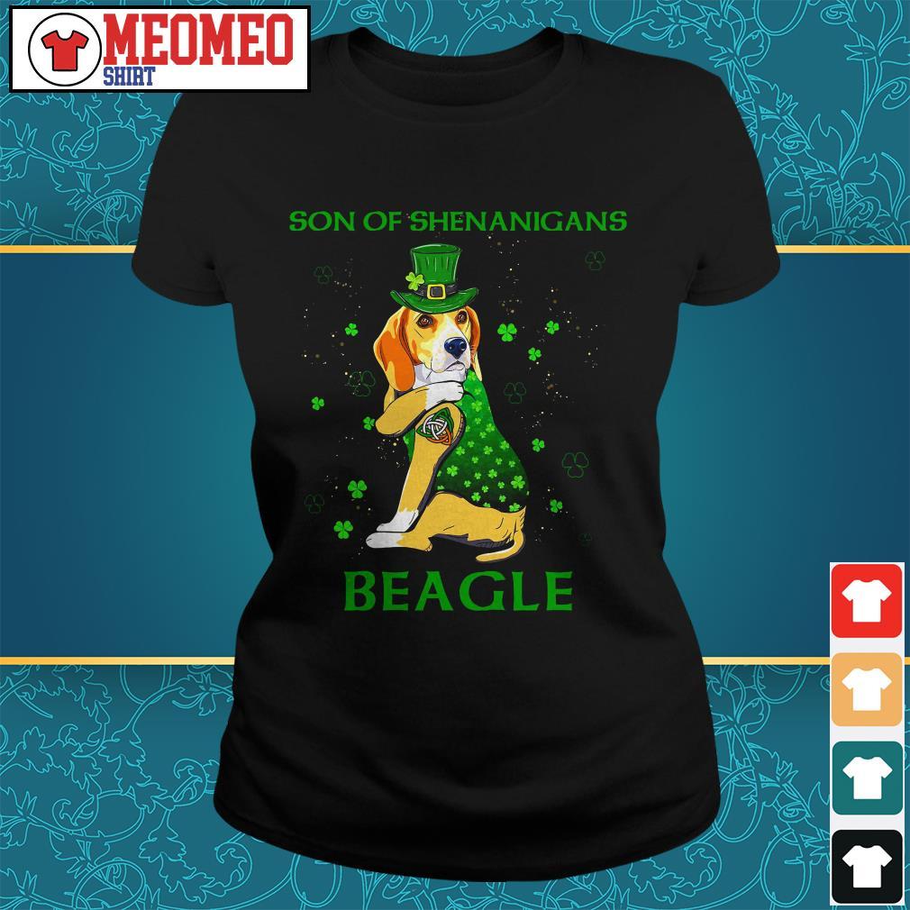 Son of shenanigans beagle Ladies tee