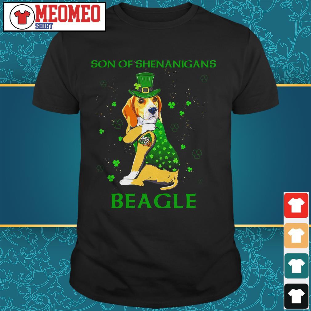 Son of shenanigans beagle shirt