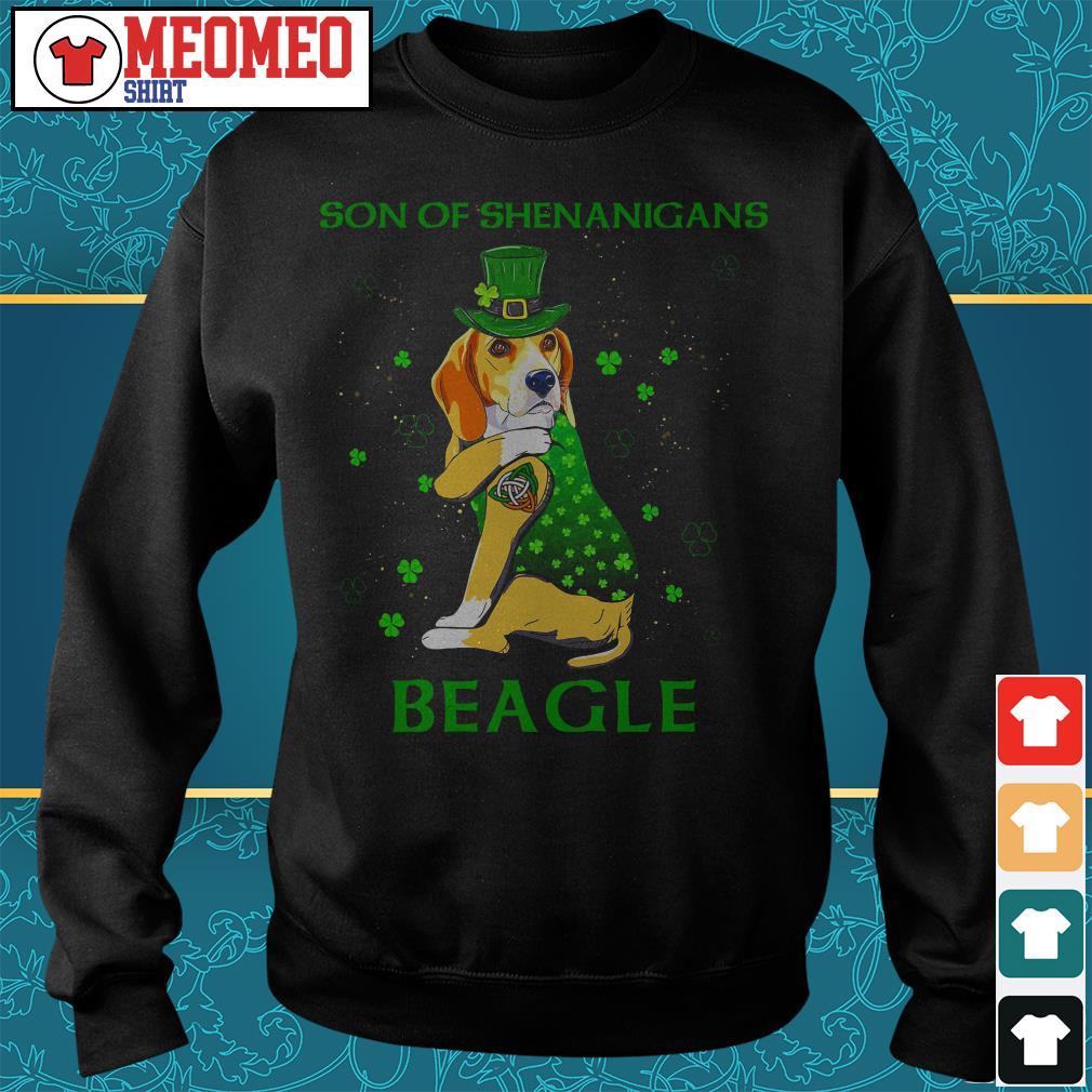 Son of shenanigans beagle Sweater