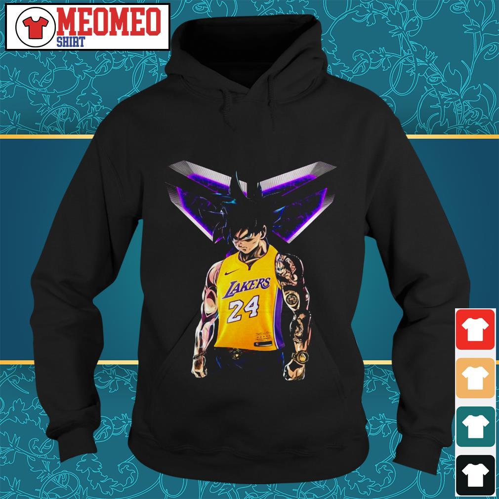 Songoku Ultra Instinct Kobe Bryant Lakers 24 Hoodie