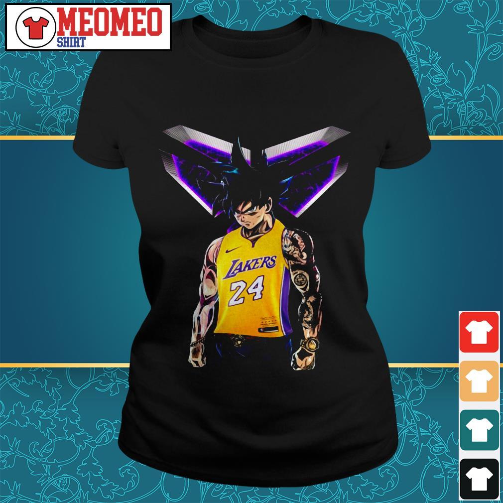 Songoku Ultra Instinct Kobe Bryant Lakers 24 Ladies tee