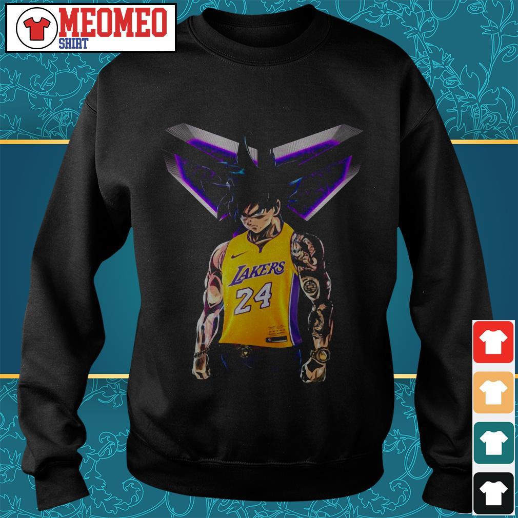 Songoku Ultra Instinct Kobe Bryant Lakers 24 Sweater