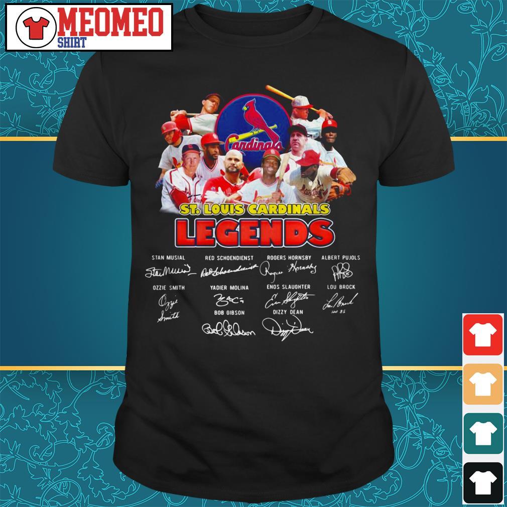 St. Louis Cardinals legends signatures shirt
