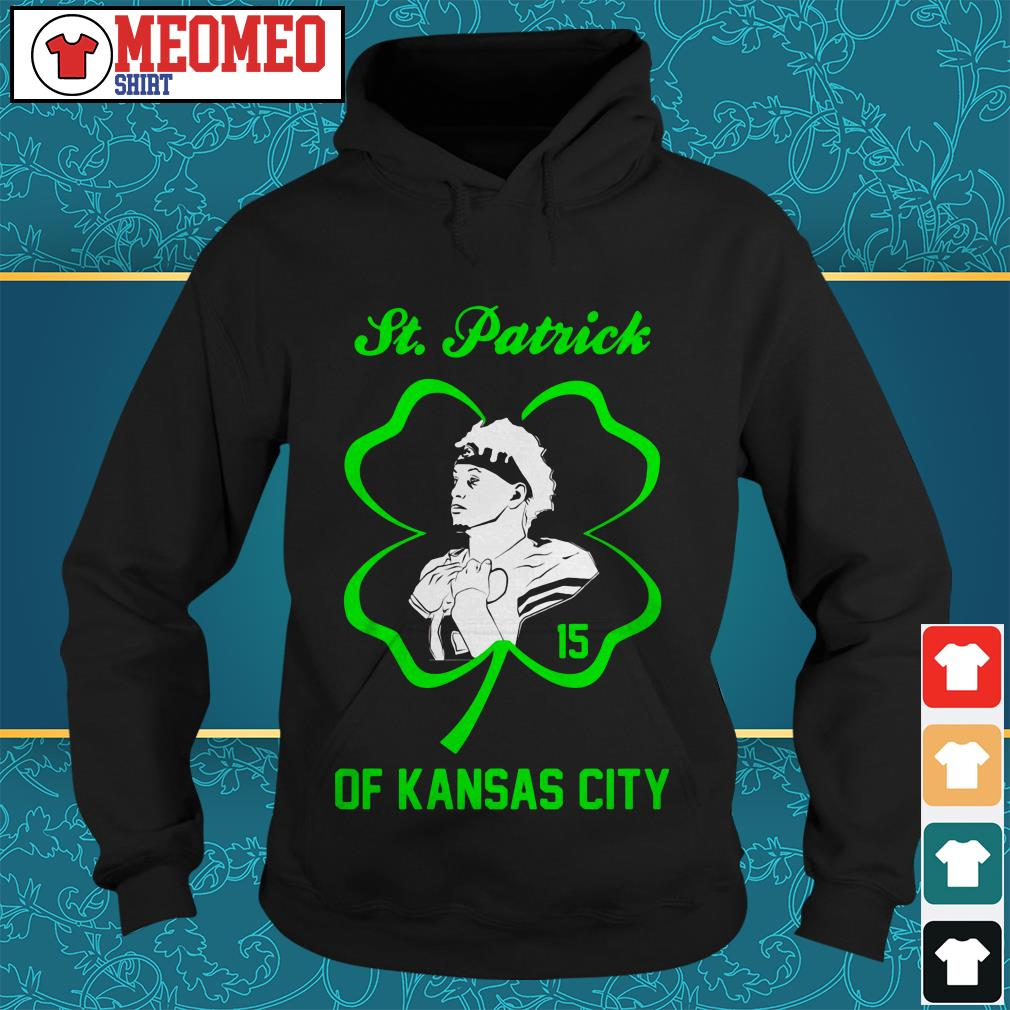 St. Patrick's Day number 15 of Kansas City Hoodie
