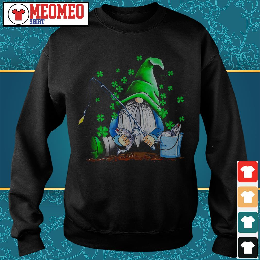 St Patrick's Gnomie fishing Sweater