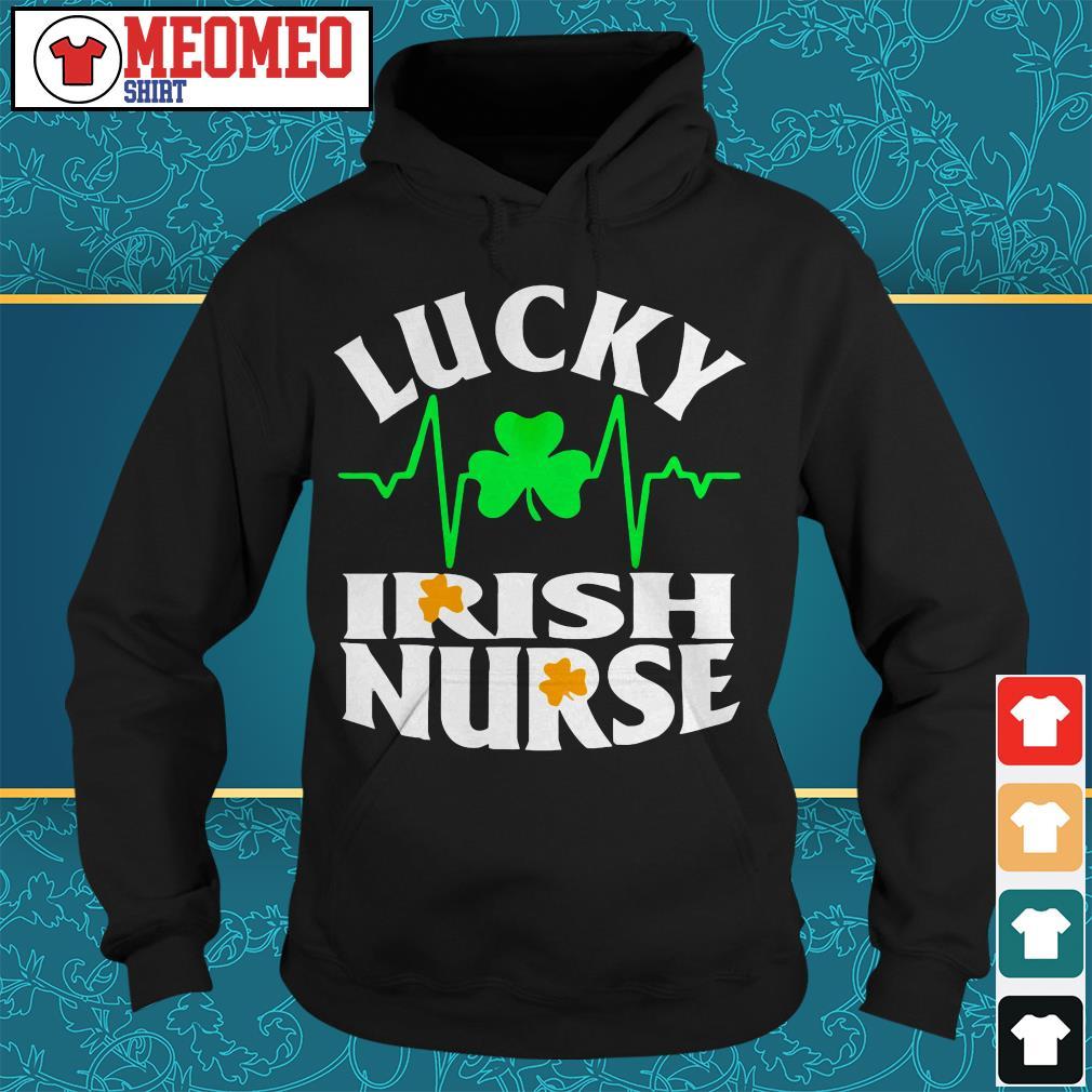 St Patrick's lucky Irish nurse Hoodie