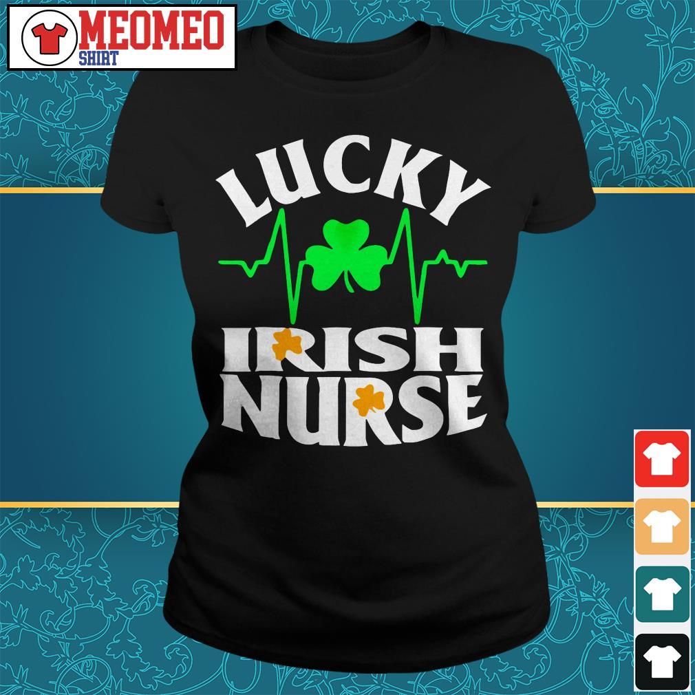 St Patrick's lucky Irish nurse Ladies tee