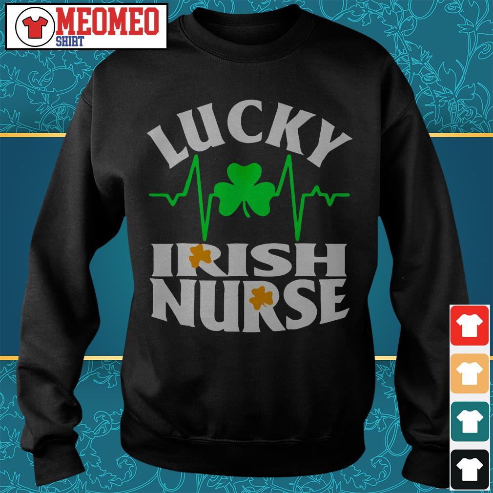 St Patrick's lucky Irish nurse Sweater