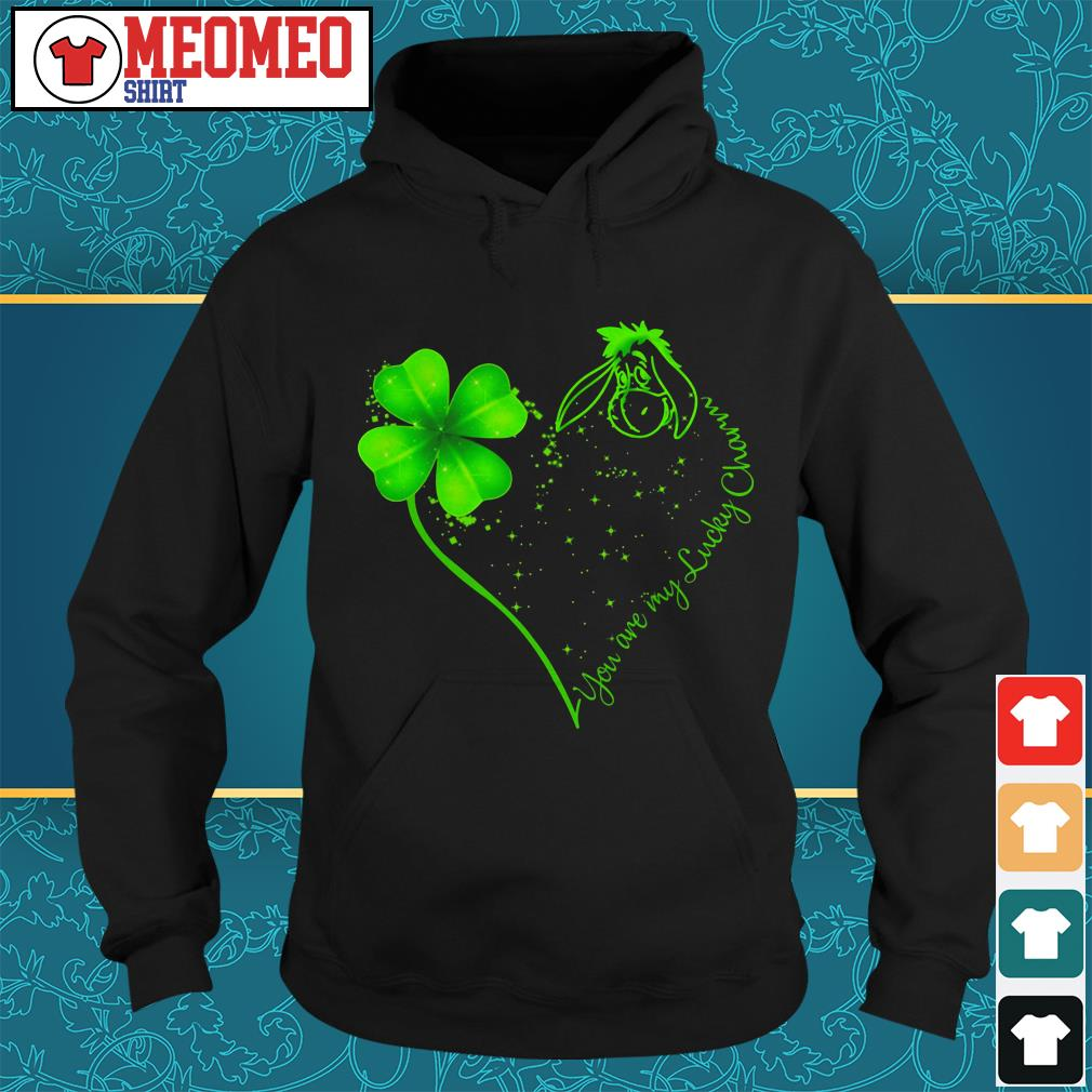 St Patrick's day and Eeyore you are my lucky charm Hoodie