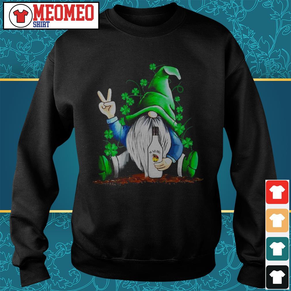 St Patrick's Day Gnome Malibu Rum Irish Sweater