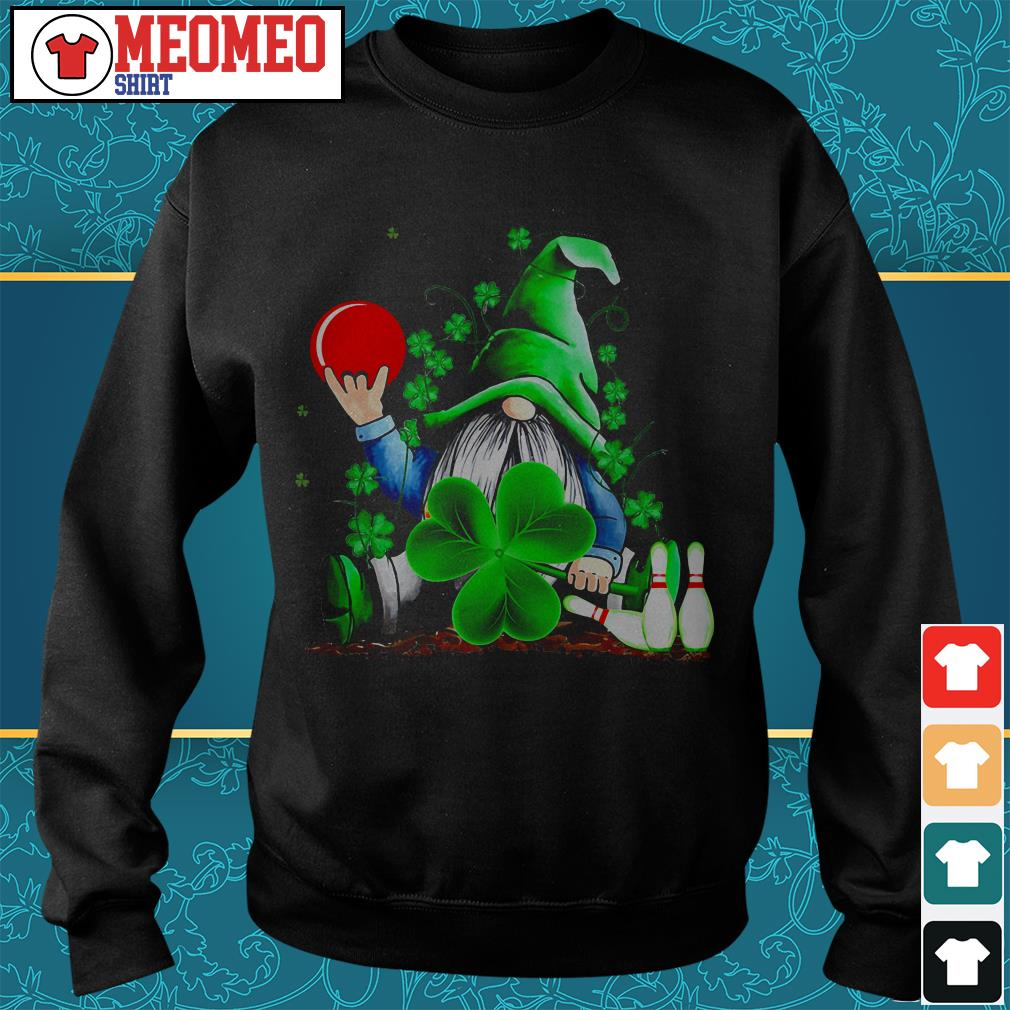 St Patrick's day Gnomie bowling Sweater
