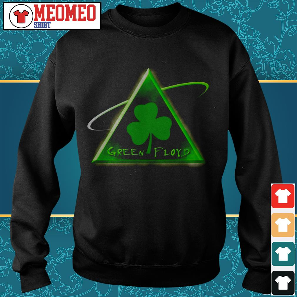 St Patrick's day green Floyd Sweater