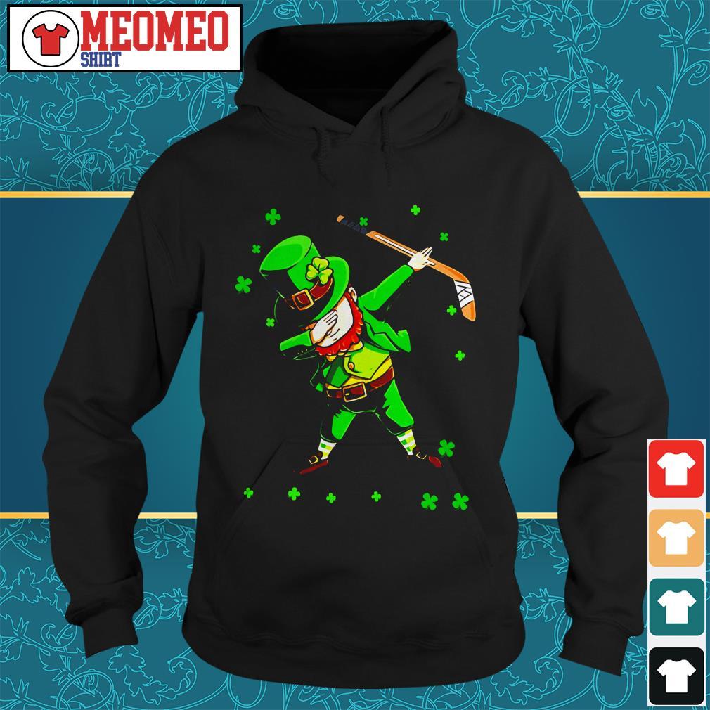 St Patrick's Day Irish hockey sports Hoodie