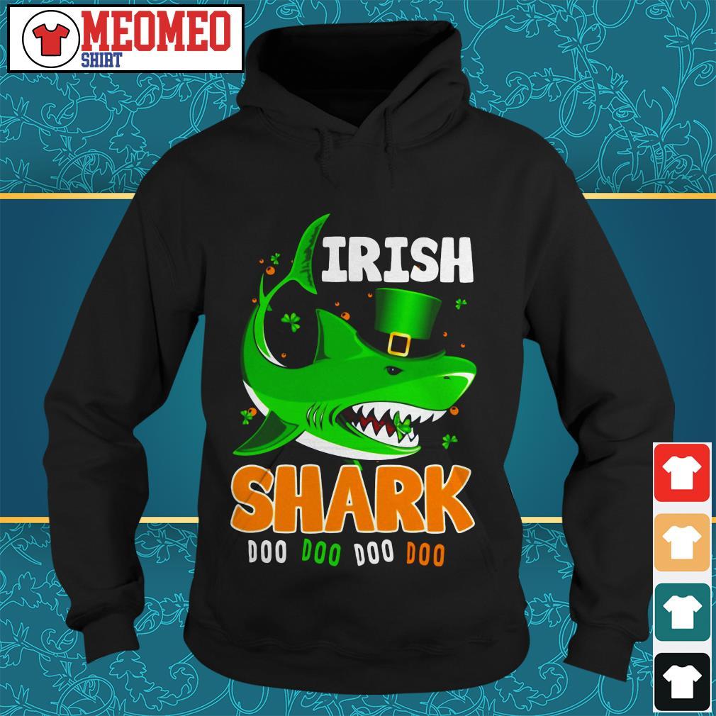 St Patrick's Day Irish shark doo doo doo doo Hoodie
