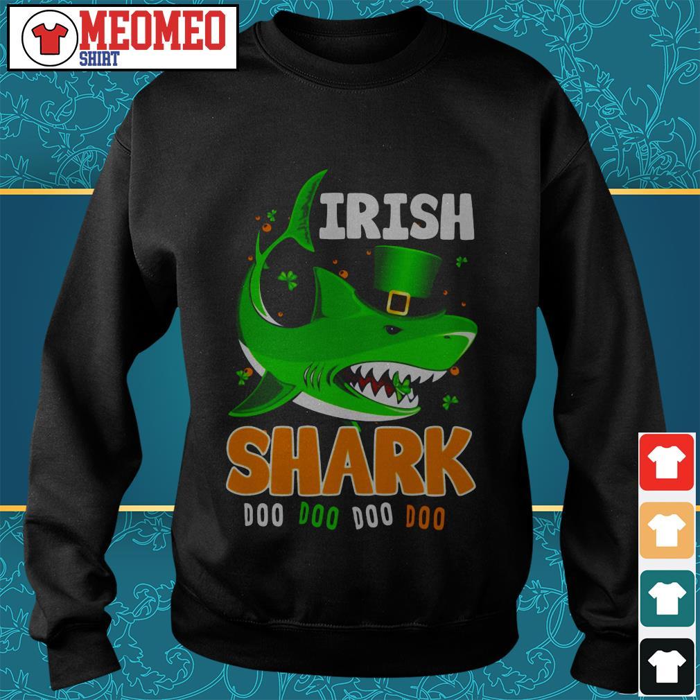 St Patrick's Day Irish shark doo doo doo doo Sweater
