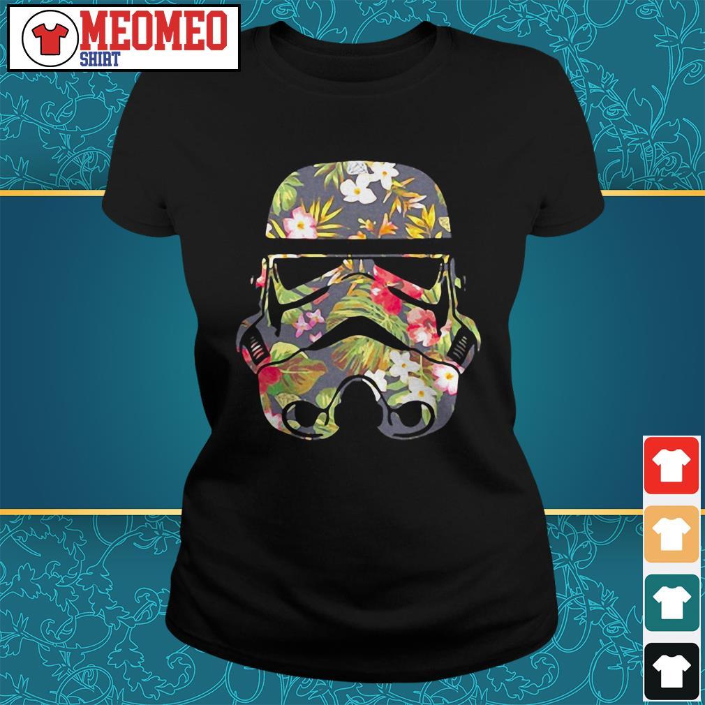 Star Wars Battlefront flower Ladies tee
