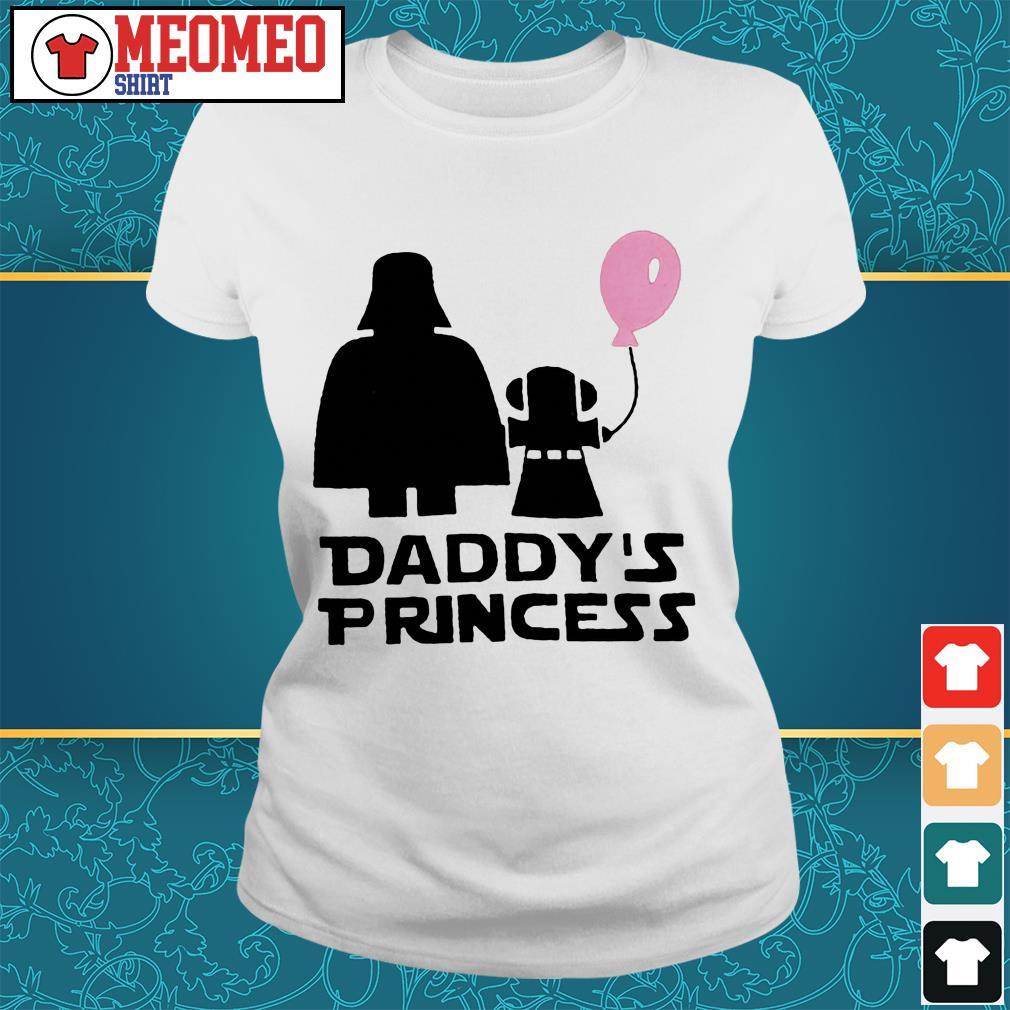 Stars war daddy's princess Ladies tee