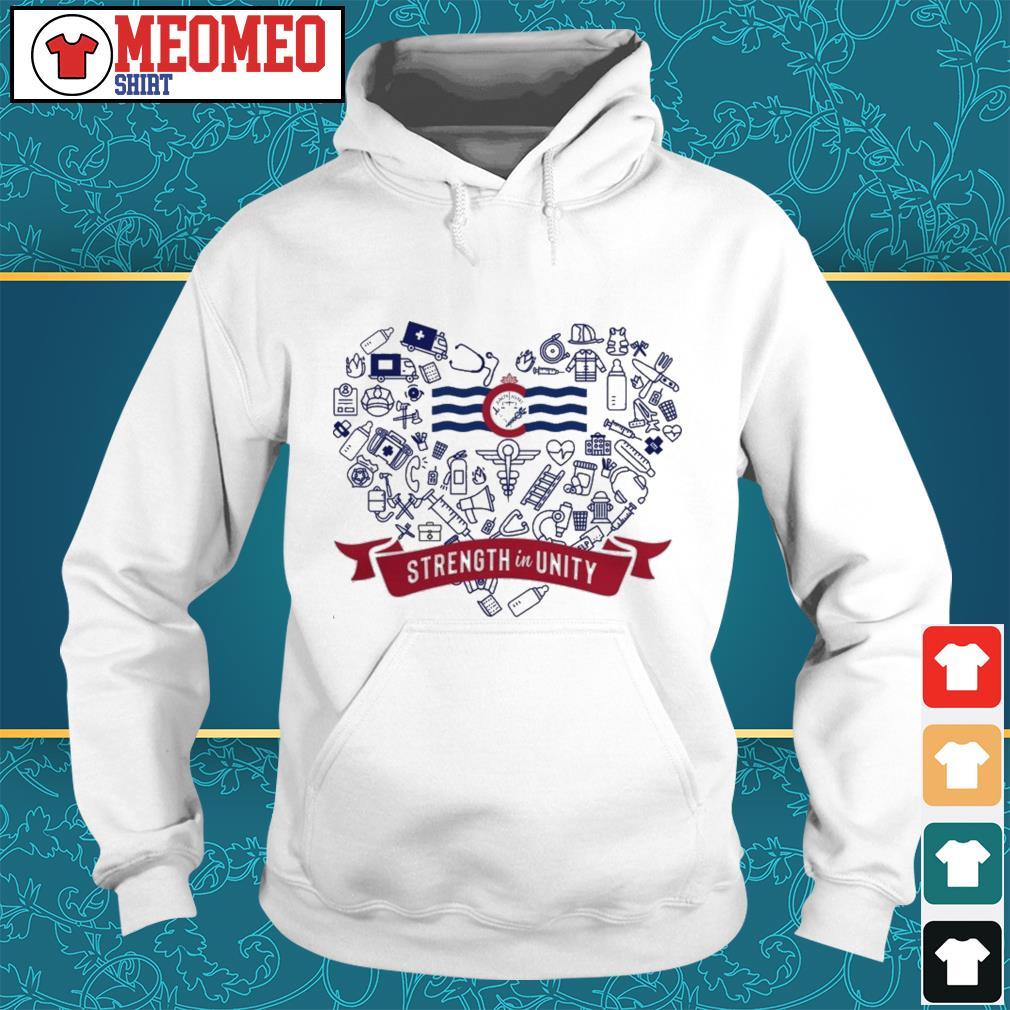 Who strength in unity Hoodie