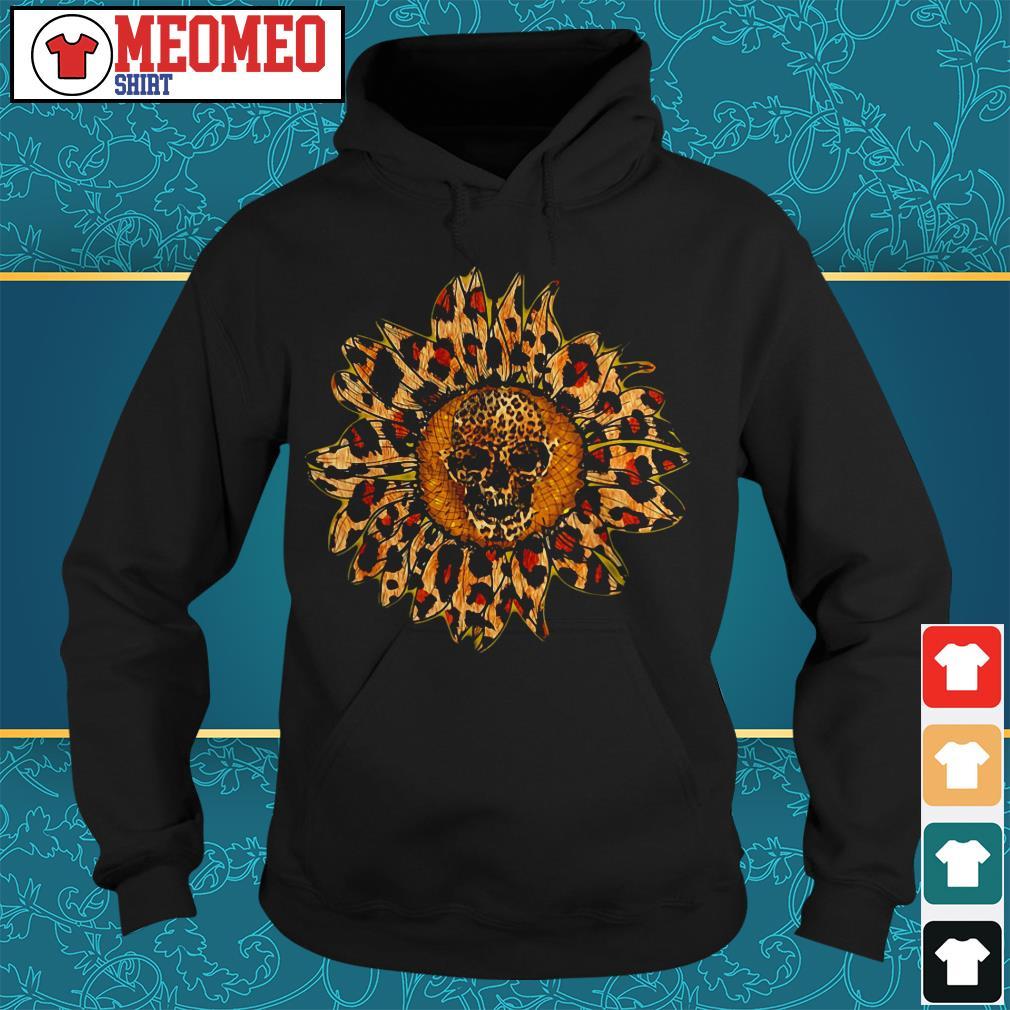 Sunflower skull Hoodie