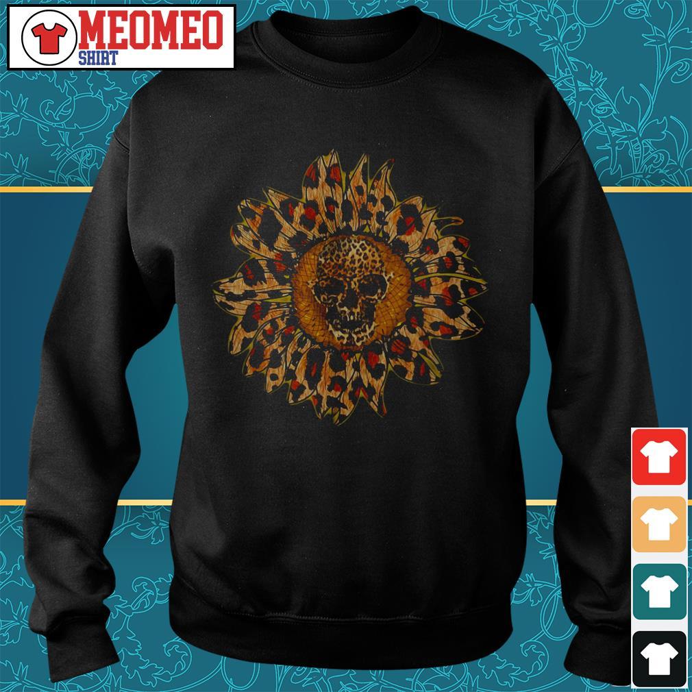 Sunflower skull Sweater