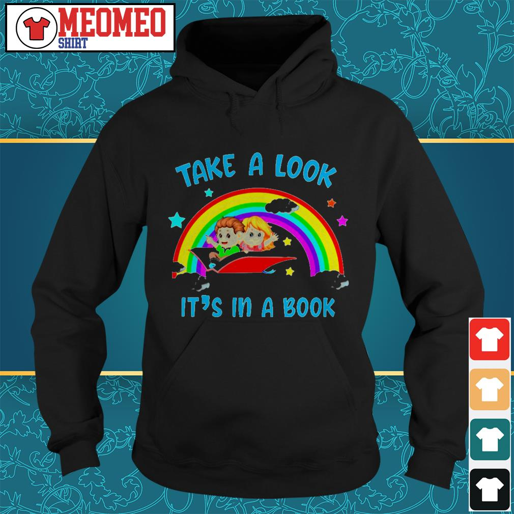 Take a look It's in a book Hoodie