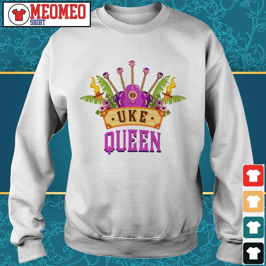 Ukulele Uke Queen Sweater