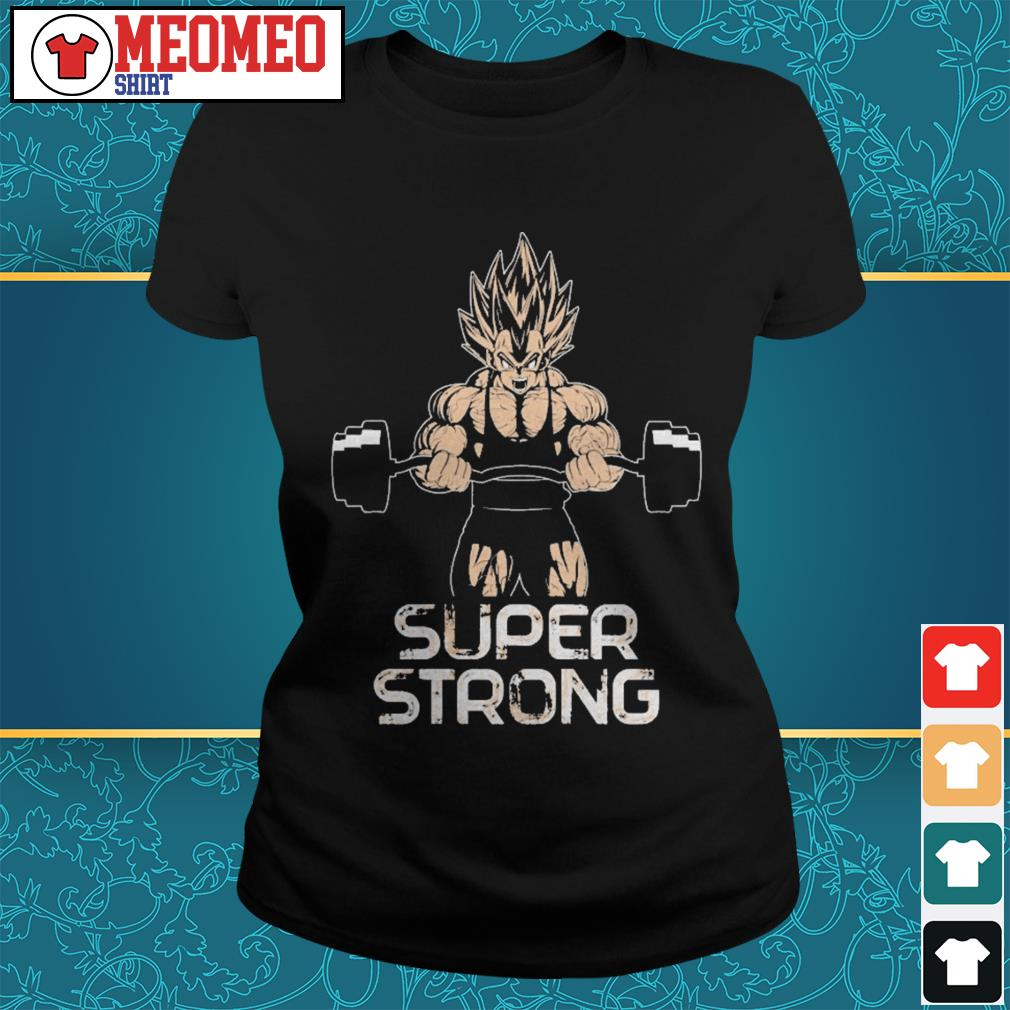 Vegeta super strong ladies tee