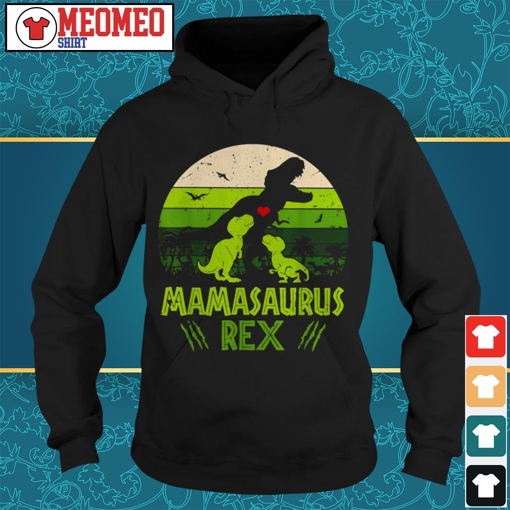Vintage Dinosaur mamasaurus rex Hoodie